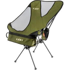 LEKI Chiller Camping zitmeubel zwart/olijf